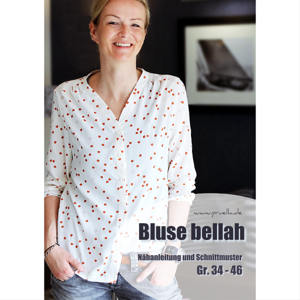 Ebook bellah - legere Bluse in Gr. 34 bis 46
