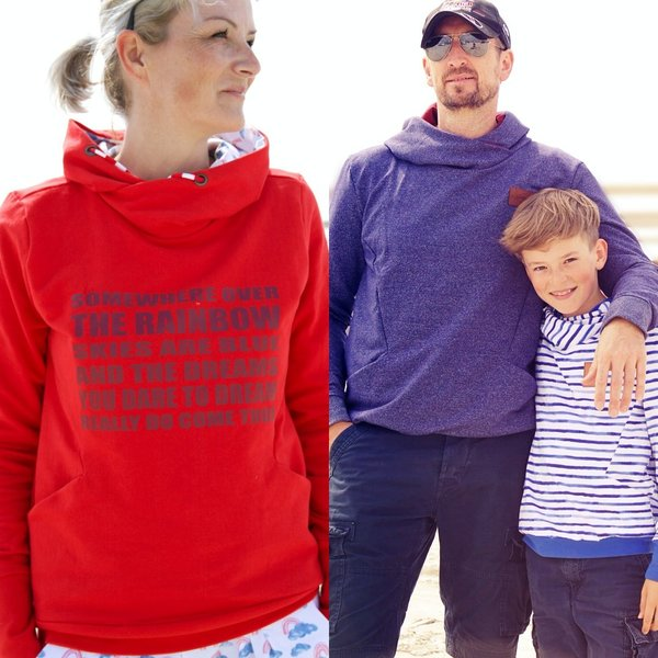 Maxi - Ebook Hoodie Hudie Woman, Men und Kids