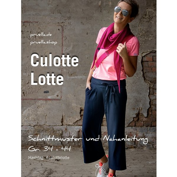 NEU! Ebook Culotte Lotte, Gr. 34 - 44