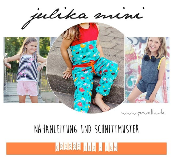 Ebook julika mini - Jumpsuit in Gr. 110 - 164